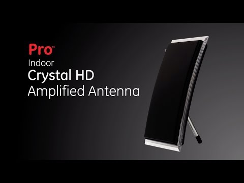 34134: Pro Indoor Crystal HD Amplified Antenna