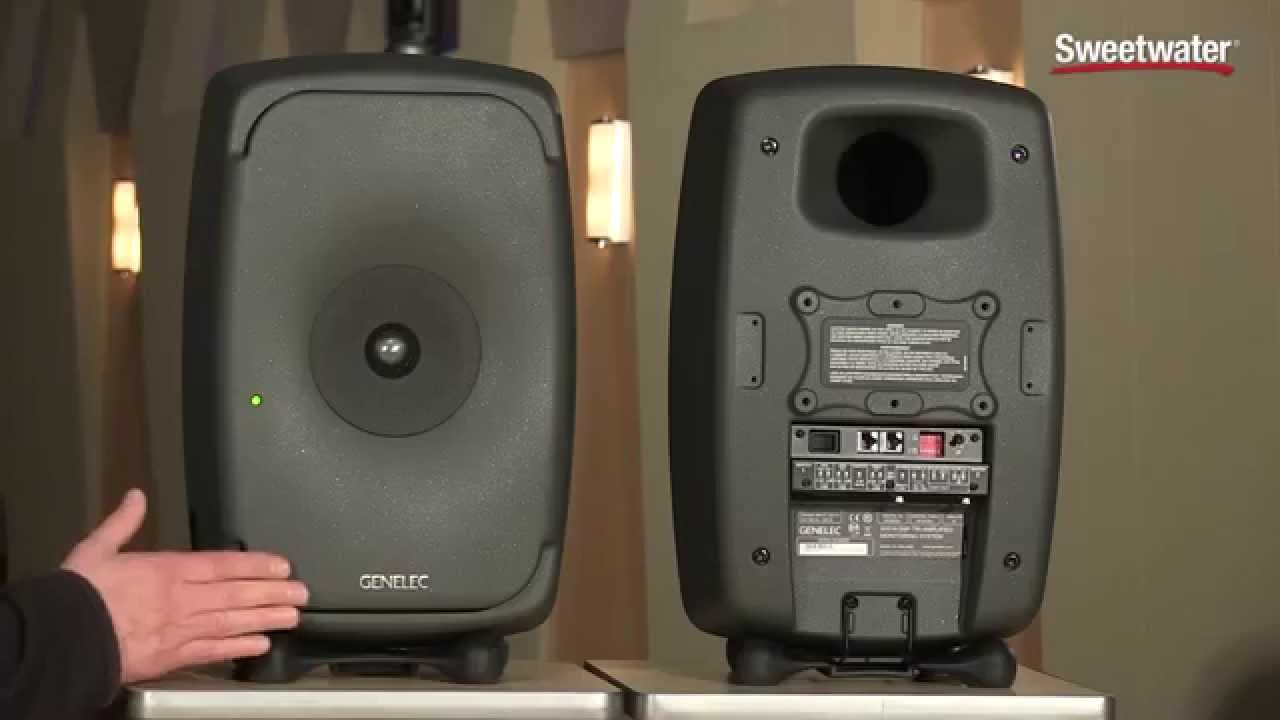 genelec 8351 active studio monitor overview by sweetwater sound youtube. Black Bedroom Furniture Sets. Home Design Ideas