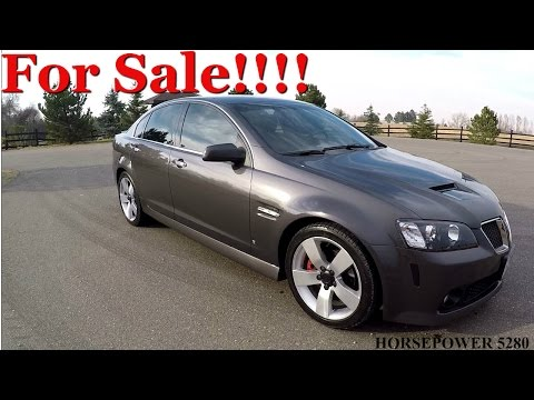 Pontiac G8 GT For Sale