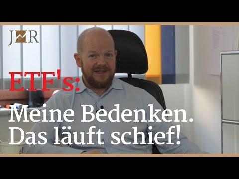 ETF's: Meine Bedenken. Das läuft schief!
