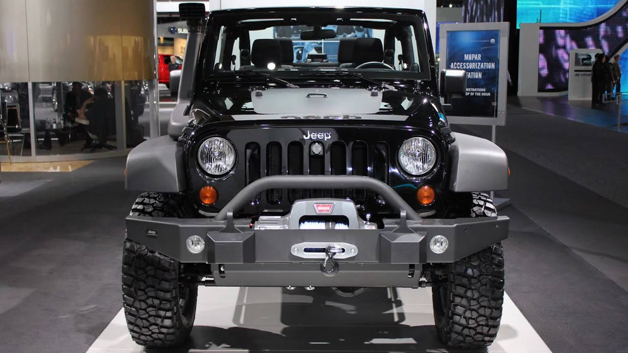2011 Jeep Wrangler Call of Duty Black Ops Edition (2011 NAIAS) - YouTube