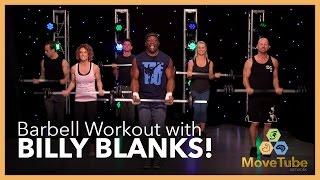 Barbell Workout with Billy Blanks!