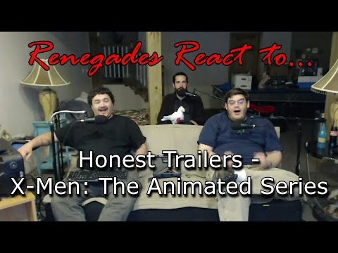 Renegades React to... Honest Trailers - X-Men: The Animated Series