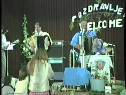 Frankie Yankovic & Joey Miskulin (in Melbourne 1986) - Oj Maricka peglaj