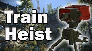 [Payday 2] Train Heist - Overkill (Stealth)
