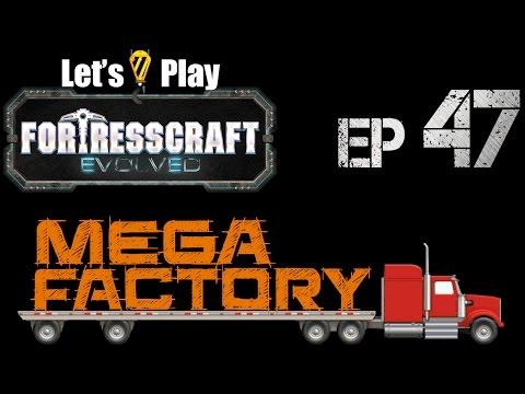 FortressCraft Evolved : Mega Factory - Ep 47 Launch Platform