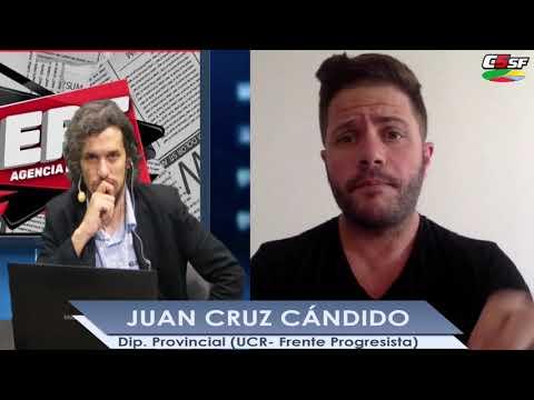 Juan Cruz Cándido: El Gobierno discrimina a más del 70% de la Provincia