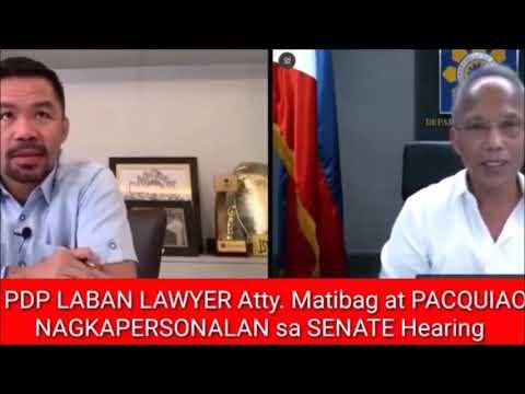 Download WATCH !! PAMBABASTOS NI PACQUIAO, HINDI PINALAGPAS NG PDP LABAN ATTY. MATIBAG, PANUORIN !!