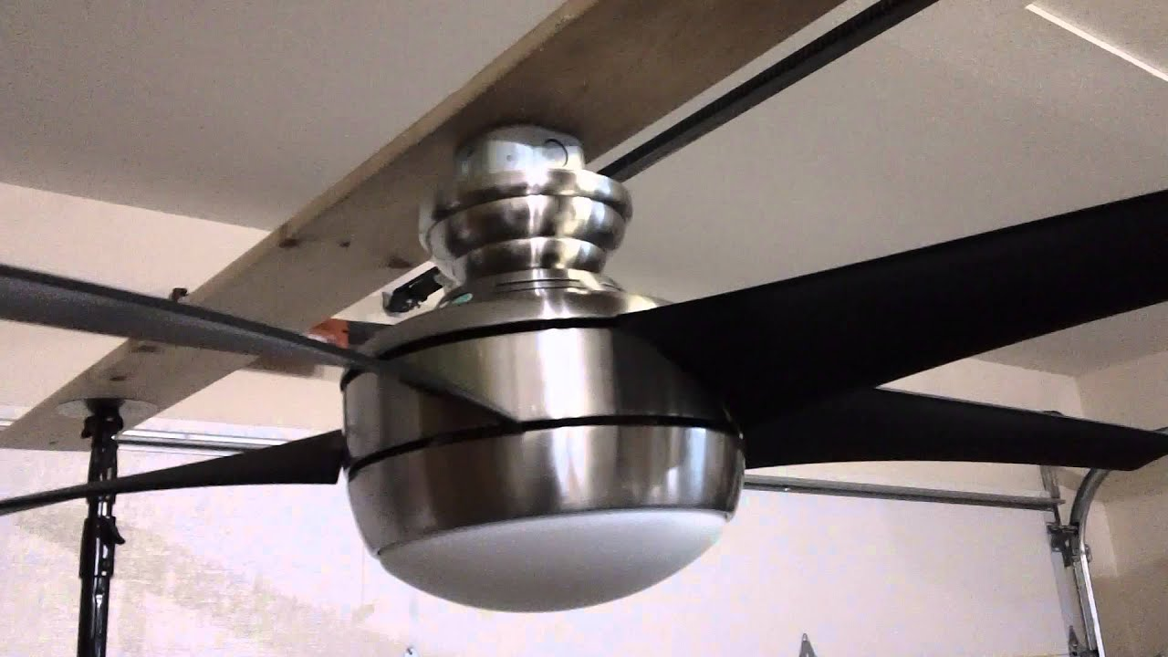 52 hampton bay windward iv ceiling fan youtube mozeypictures Image collections