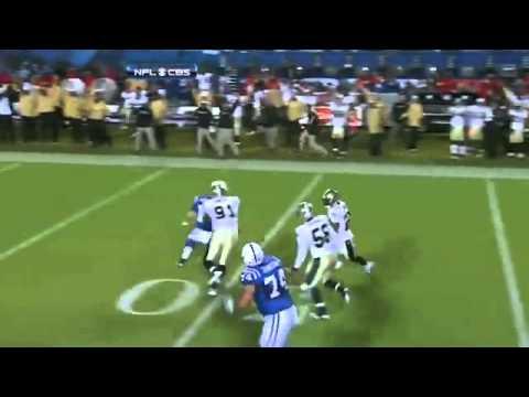 Tracy Porter Interception vs Colts HD Superbowl