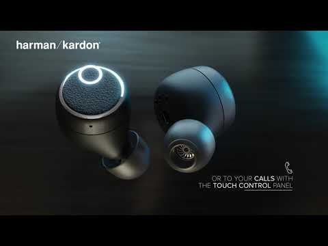 Harman Kardon FLY TWS In-ear Bluetooth Handsfree Μαύρο