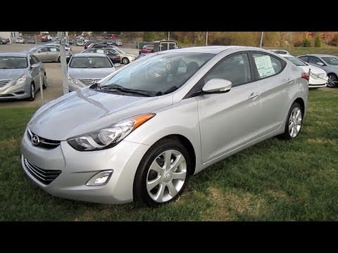 2011 Hyundai Elantra Limited Start Up Engine And In