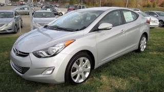 2011 Hyundai Elantra Limited Start Up, Engine, and In Depth Tour