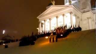 Ylioppilaskunnan Laulajat - Finlandia-hymni 6.12.2012