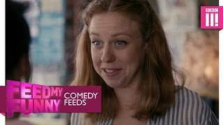 Video Alice sees her old school friends - Limbo - Comedy Feeds 2016 - BBC Three download MP3, 3GP, MP4, WEBM, AVI, FLV November 2017