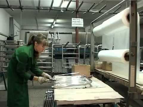 Презентация завода Марио. Производство полотенцесушителей из нержавейки (www.santehimport.com)