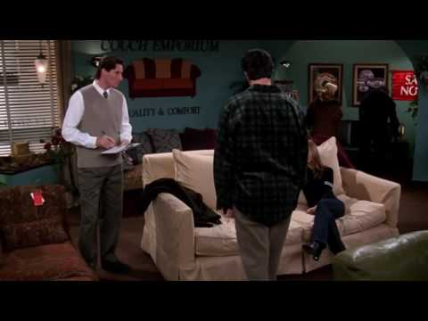 Friends - Ross Buy's a New Couch.
