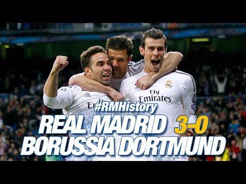 3-0 El Real Madrid golea al Borussia
