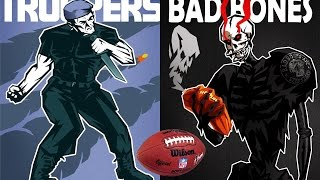 Szekszárd Bad Bones - Boda Troopers I-II. negyed