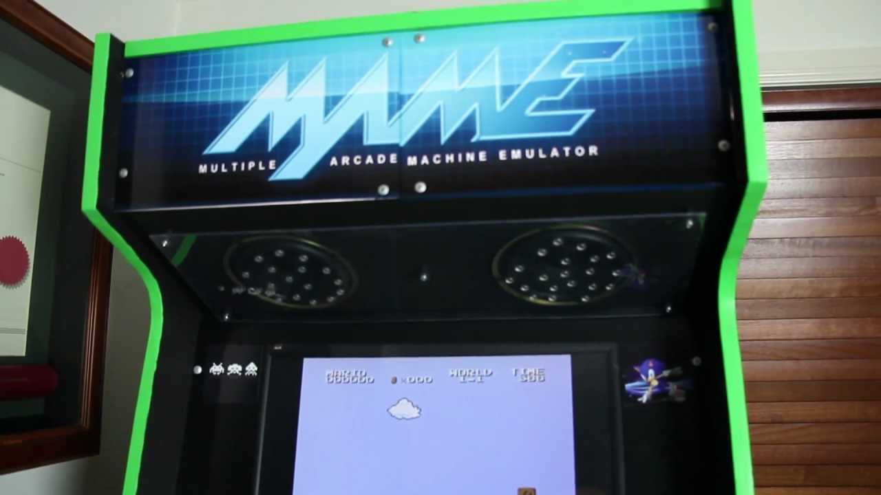 Make Your Own Cool Mame Arcade Machine - YouTube