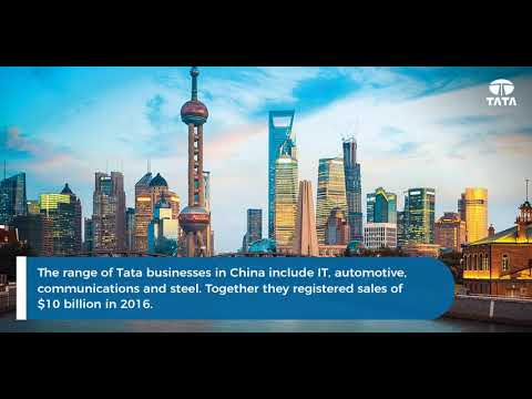 The Tata group in China