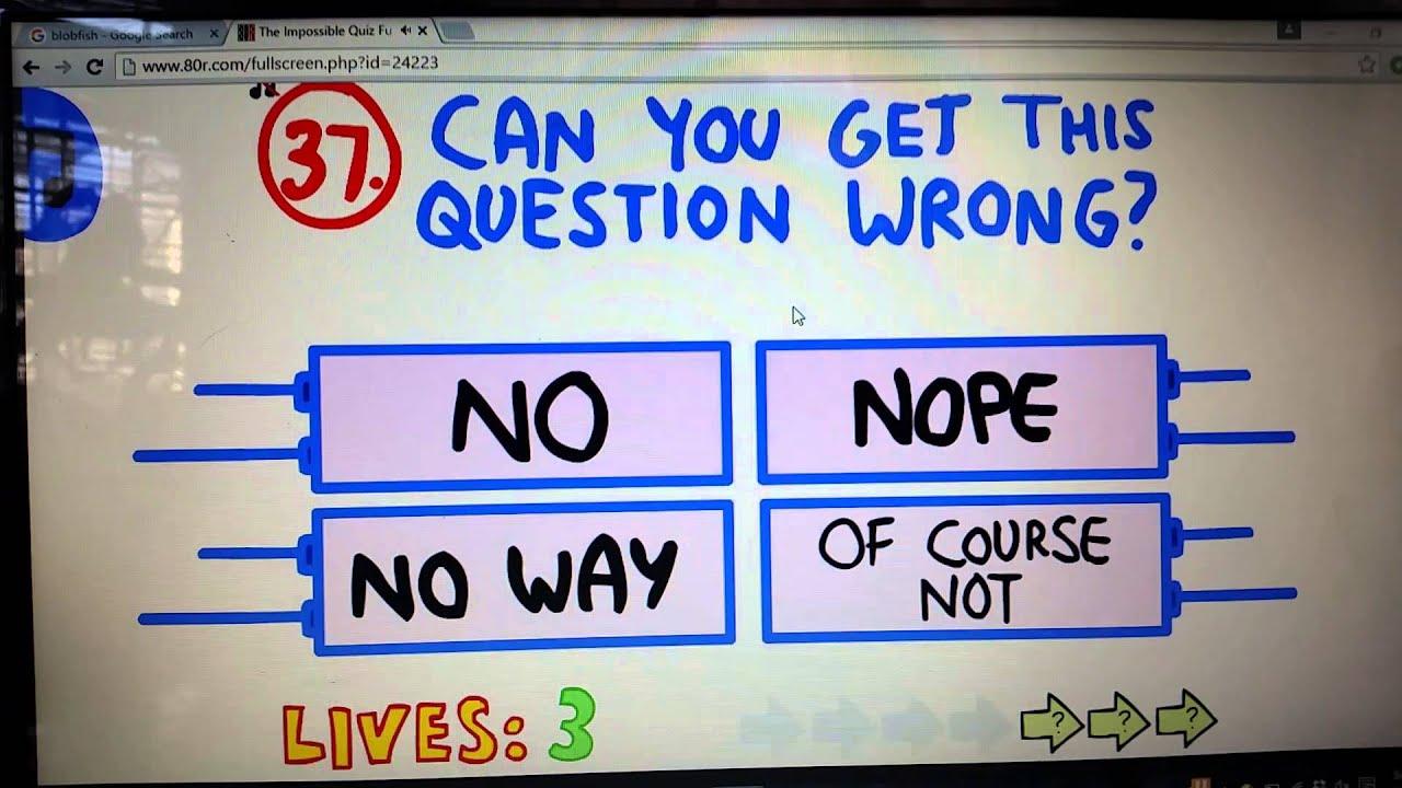 The Impossible Quiz German