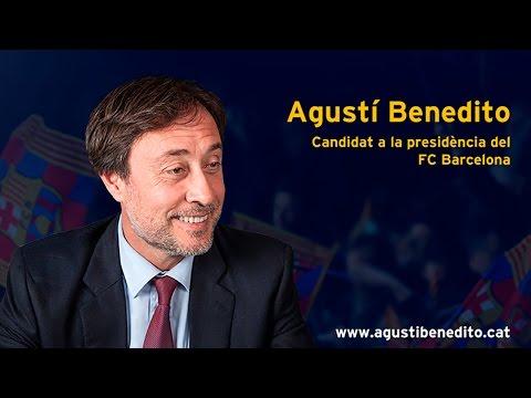 Roda de premsa Agustí Benedito | Oferta de patrocini (streaming)