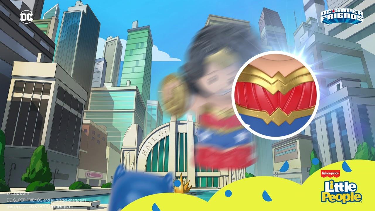 Elige a tu héroe favorito con Little People y DCSF 💥💪