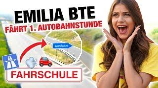 Autobahn Fahrstunde mit Emilia BTE 🚘 | Fischer Academy