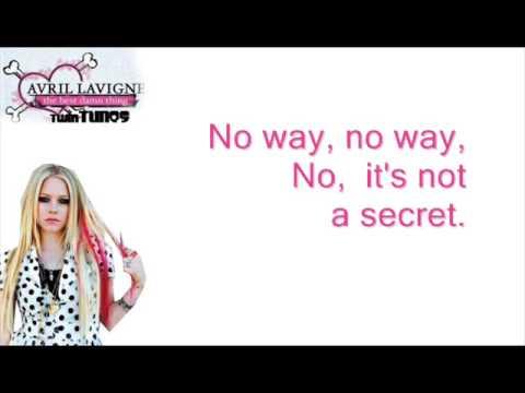 Avril Lavinge-- Girlfriend Karaoke [with good quailty back up vocals!!]