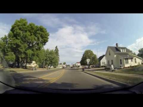 Running Wisconsin Treadmill Road Video Hwy 63 north part 1