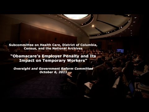 """""""Obamacare's Employer Penalty and Its Impact on Temporary Workers"""""""