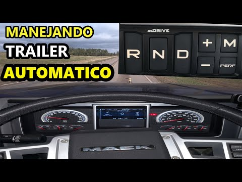 Manejando Trailer En Vivo Con Transmision Automatica