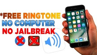 How to get Ringtone on your iPhone Free No Computer No Jailbreak iOS 9.3.2, 9.3.3, 10