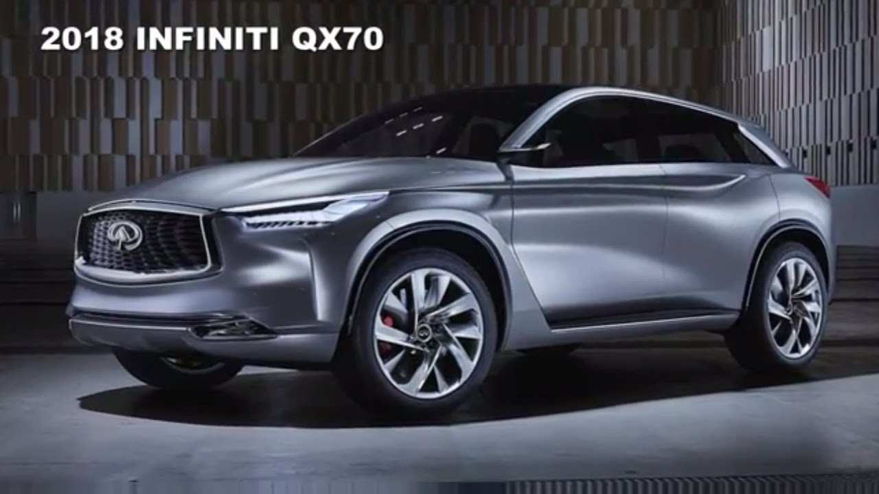 2018 infiniti crossover.  2018 2018 infiniti qx70 redesign and powertrain upgrade with infiniti crossover