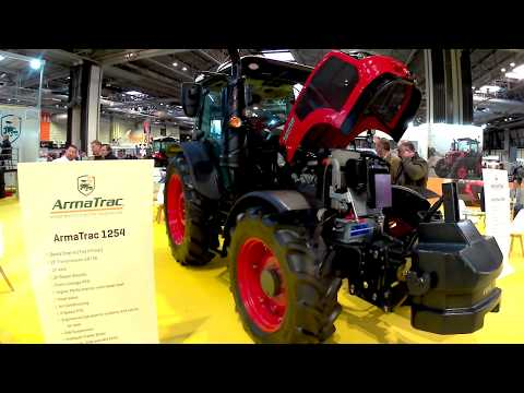 2019 ArmaTrac 1254 Lux CRD4 2.9 Litre 4-Cyl Diesel Tractor (125HP)