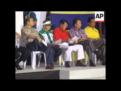 PHILIPPINES: PRESIDENT FIDEL RAMOS CAMPAIGN  RALLY