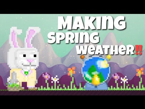 growtopia getting weather machine snowy night doovi. Black Bedroom Furniture Sets. Home Design Ideas