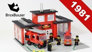 Lego - Back To History - 6382 Fire Station - 1981 - BrickBuilder
