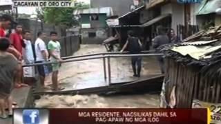 24 Oras: Bahagi ng Maharlika Highway sa Agusan del Sur, gumuho dahil sa pag-ulan
