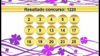 sorteio resultado lotofacil 1220 Palpite 1221