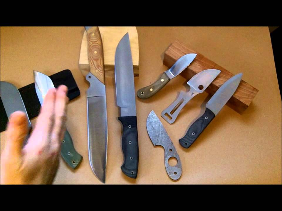 Knife Making Tutorial - How to Make and Sell Custom Knives ...