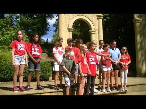 Hawken Students sing at One World Day in Cleveland Cultural Gardens