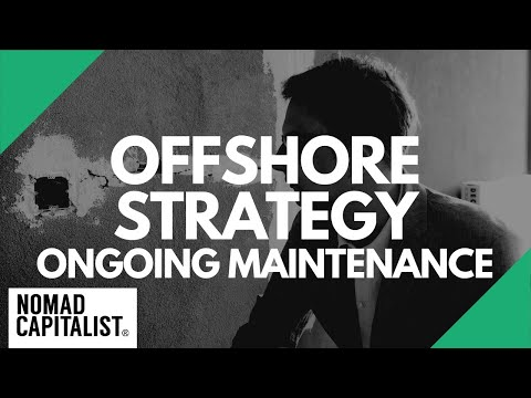 How to Maintain an Offshore Plan