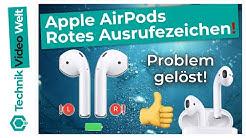 AirPods Rotes Aufrufezeichen ❗ Lösung - AirPods Pro