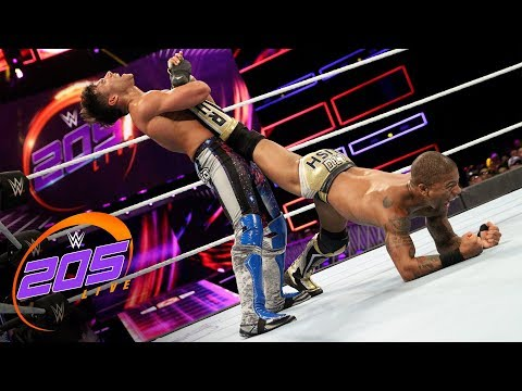 Noam Dar vs Lio Rush: WWE 205 , Sept 26, 2018