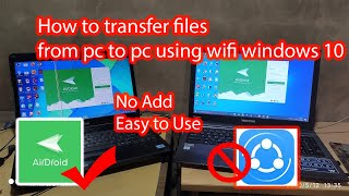 PC to PC file transfer software without internet screenshot 5