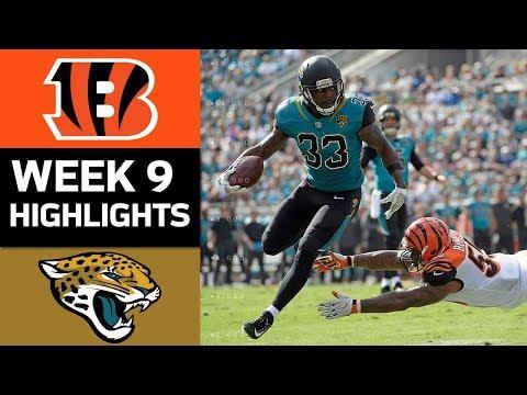 Bengals vs. Jaguars | NFL Week 9 Game Highlights