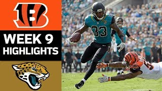 Bengals vs. Jaguars | NFL Week 9 Game Highlights