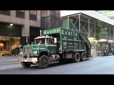 NYC Demolition Waste Trucks